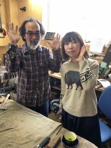 THE  MOLICEのRinkoさんがご来店!