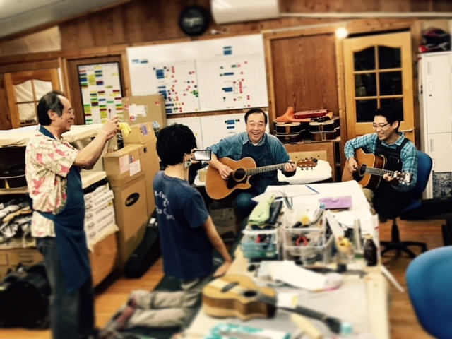 沖田ギターの風景