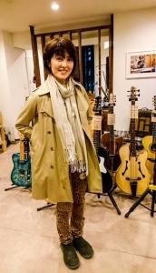 荻野目洋子さんが渋谷店にご来店!